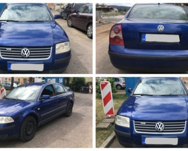 25.7.2019 Dražba automobilu VW PASSAT. Vyvolávací cena 18.000 Kč, ➡️ ID595373
