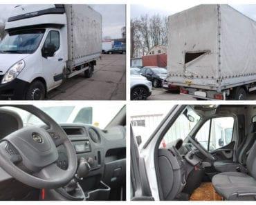 3.8.2019 Dražba automobilu Opel Movano. Vyvolávací cena 237.000 Kč, ➡️ ID607713