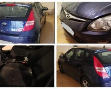10.9.2019 Dražba automobilu Hyundai I 30. Vyvolávací cena 28.000 Kč, ➡️ ID606878