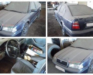 15.8.2019 Dražba automobilu Škoda Octavia liftback. Vyvolávací cena 15.000 Kč, ➡️ ID607017