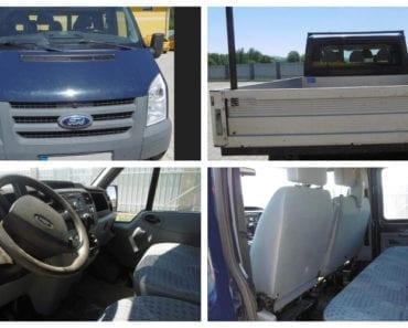 15.8.2019 Dražba nákladního automobilu Ford Transit. Vyvolávací cena 85.000 Kč, ➡️ ID607360