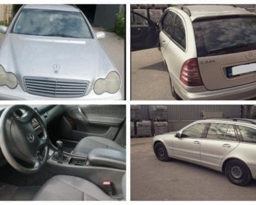 11.9.2019 Dražba automobilu Mercedes- Benz C 220 CDI, kombi. Vyvolávací cena 27.000 Kč, ➡️ ID610845
