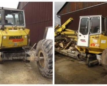Do 5.8.2019 Výběrové řízení na prodej vozidla Stroj stavební – kráčivé rypadlo Menzi Muck A70. Min. kupní cena 300.000 Kč, ➡️ ID602007