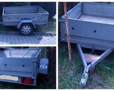 12.8.2019 Dražba vozíku Nákladní přívěs AGADOS. Vyvolávací cena 3.000 Kč, ➡️ ID601971