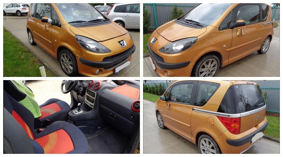 Dražba automobilu Peugeot 1007 – vydraženo za 30.000 Kč 