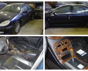 Do 13.8.2019 Aukce automobilu Peugeot 607. Vyvolávací cena 7.000 Kč, ➡️ ID607890