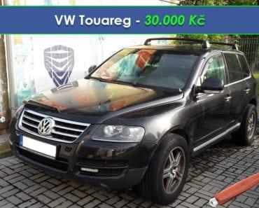 20.8.2019 Dražba automobilu VW Touareg. Vyvolávací cena 30.000 Kč, ➡️ ID608280
