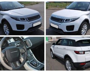 3.8.2019 Dražba automobilu Land Rover RANGE ROVER EVOQUE. Vyvolávací cena 645.000 Kč, ➡️ ID607534