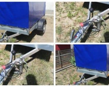 9.9.2019 Dražba vozíku Přívěsný vozík NIEWIADOW. Vyvolávací cena 4.000 Kč, ➡️ ID610968