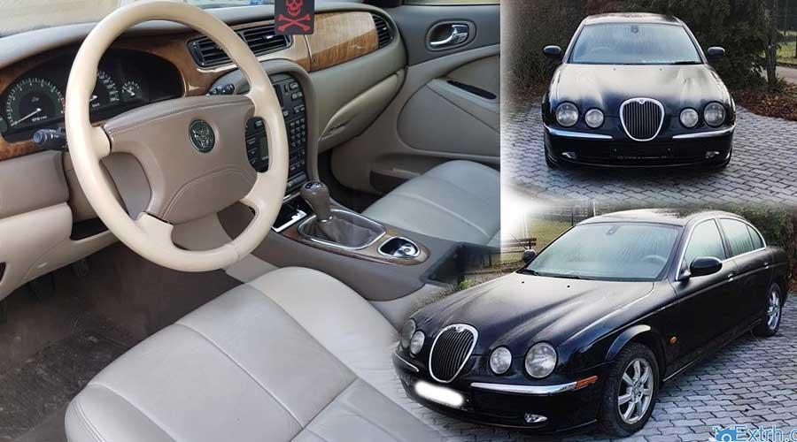 Zisková dražba auta Jaguar S-Type 2.5 – v 1.kole nevydraženo – v opakované dražbě vydraženo jen za 32.000 Kč