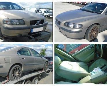 22.8.2019 Dražba automobilu Volvo S60 2.4 D. Vyvolávací cena 15.000 Kč, ➡️ ID602787