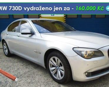 Zisková Dražba BMW 730D vydraženo jen za - 160.000 Kč ➡️ 🔥🔥🔥
