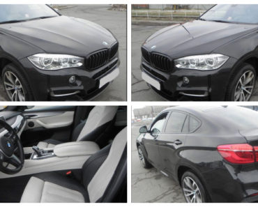 3.8.2019 Dražba automobilu BMW X6 M. Vyvolávací cena 1.275.000 Kč.