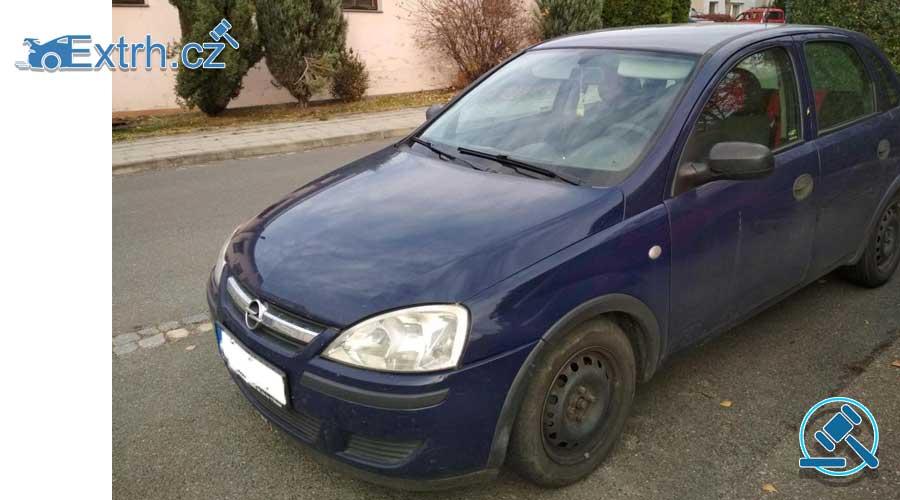 Zisková Dražba Opel Corsa – vydraženo jen za 10.500 Kč