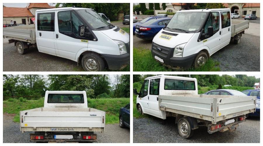 Do 9.8.2019 Dražba nákladního automobilu Ford Transit valník, 2.2 D. Vyvolávací cena 96.800 Kč, ➡️ ID607649