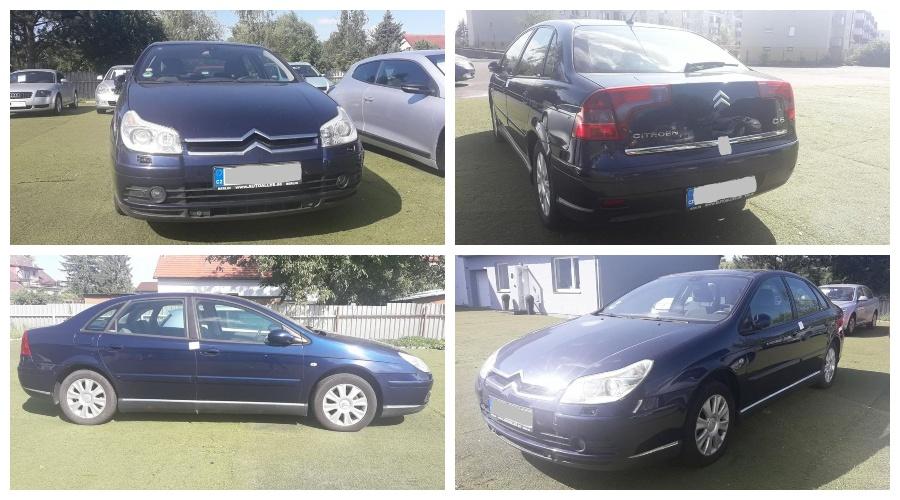 13.8.2019 Dražba automobilu Citroën C5. Vyvolávací cena 15.000 Kč, ➡️ ID608271