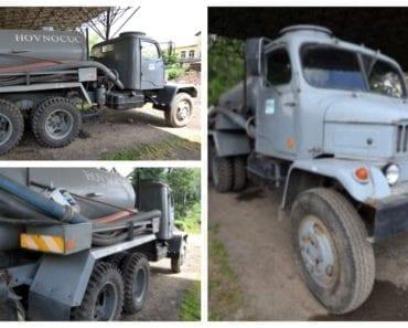 Do 19.8.2019 Výběrové řízení na prodej vozidla cisternový fekální. Min. kupní cena Nejvyšší nabídce Kč, ➡️ ID606935