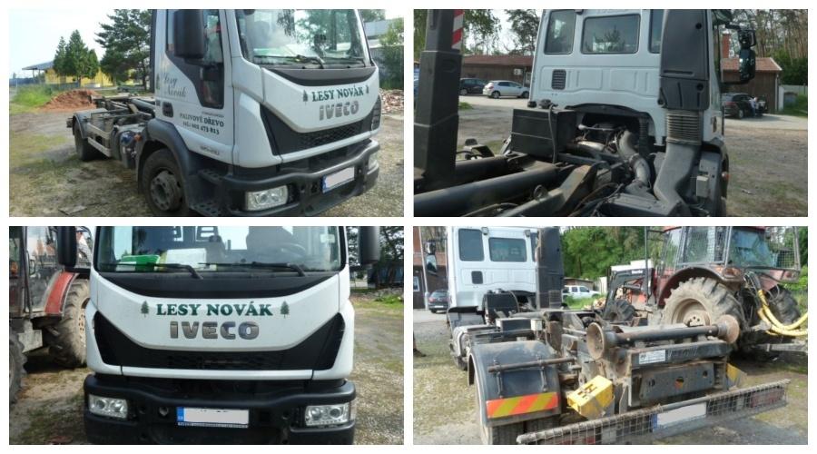 16.9.2019 Dražba nákladního automobilu IVECO 120E. Vyvolávací cena 300.000 Kč, ➡️ ID607444