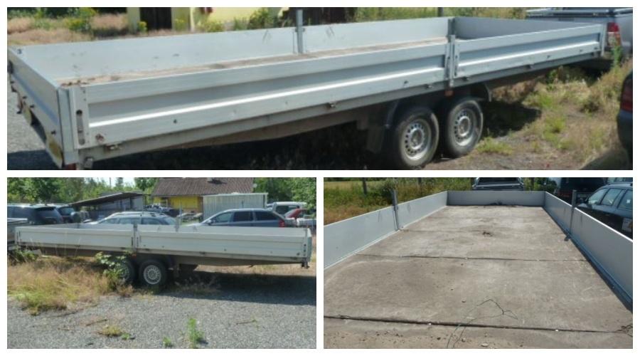 16.9.2019 Dražba vozíku Medd Transporter. Vyvolávací cena 40.000 Kč, ➡️ ID607456