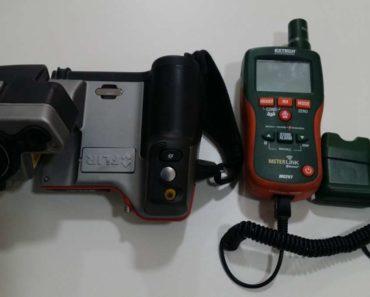 Do 23.8.2019 Výběrové řízení na prodej stroje (Termokamera FLIR a vlhkoměr s IR teploměrem). Min. kupní cena Nejvyšší nabídce Kč, ➡️ ID602014