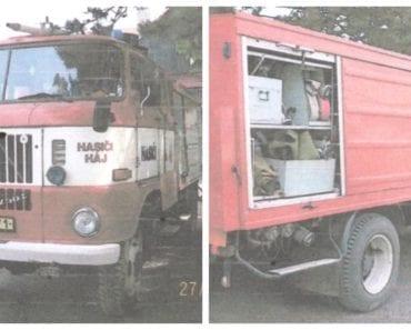 Do 5.8.2019 Výběrové řízení na prodej vozidla Hasičské vozidlo. Min. kupní cena 17.000 Kč, ➡️ ID597728