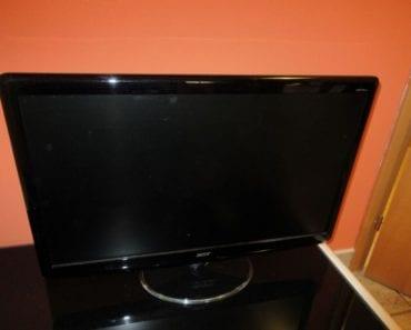 6.8.2019 Dražba elektroniky (Monitor, televizor a tiskárna). Vyvolávací cena 400 Kč, ➡️ ID607111
