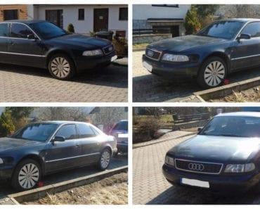 12.9.2019 Dražba automobilu Audi A8 2.5 D. Vyvolávací cena 3.000 Kč, ➡️ ID617055