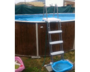 22.8.2019 Dražba bazénu Bestway. Vyvolávací cena 1.400 Kč.