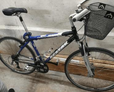 22.8.2019 Dražba jízdního kola Montana. Vyvolávací cena 1.200 Kč.