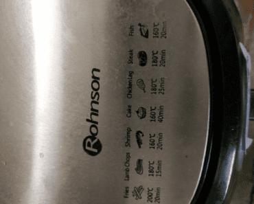 22.8.2019 Dražba fritovacího hrnce. Vyvolávací cena 250 Kč.