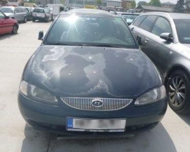12.9.2019 Dražba automobilu Hyundai. Vyvolávací cena 300 Kč, ➡️ ID615254