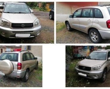 9.9.2019 Dražba automobilu Toyota RAV4. Vyvolávací cena 35.000 Kč, ➡️ ID616525