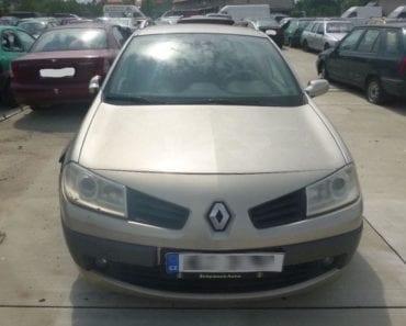 12.8.2019 Dražba automobilu Renault Megane. Vyvolávací cena 300 Kč, ➡️ ID615272