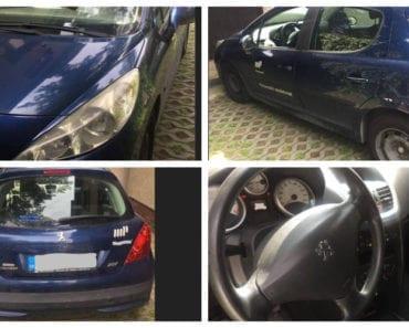 Do 5.9.2019 Aukce automobilu Peugeot 207 1.4i. Vyvolávací cena 15.000 Kč, ➡️ ID620420