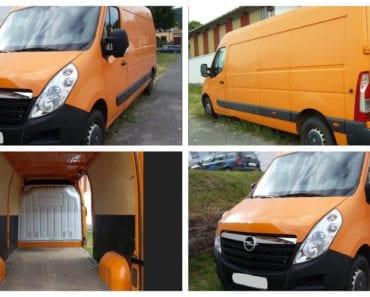 3.9.2019 Dražba nákladního automobilu Opel Movano. Vyvolávací cena 60.000 Kč, ➡️ ID615014