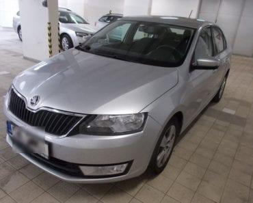 Do 22.8.19 Aukce automobilu Škoda Rapid 1,4 TDI Ambition, Vyvolávací cena 47.000 Kč. ID nabídky 621466