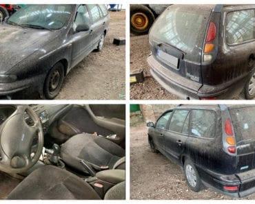 20.8.2019 Dražba automobilu Fiat Marea WEEKEND 1.6. Vyvolávací cena 4.750 Kč, ➡️ ID614808