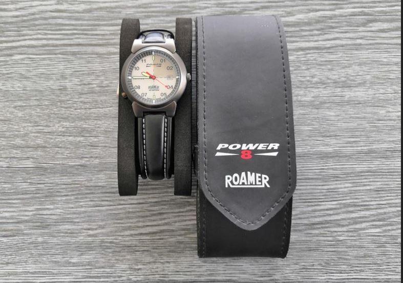 6.9.2019 Dražba ostatních movitých věcí (Pánské hodinky Roamer Power). Vyvolávací cena 1.200 Kč, ➡️ ID621098