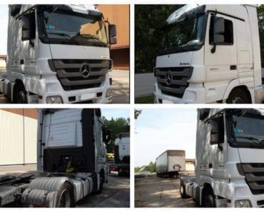 3.9.2019 Dražba nákladního automobilu MERCEDES-BENZ – ACTROS. Vyvolávací cena 150.000 Kč, ➡️ ID615035
