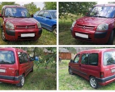 24.9.2019 Dražba automobilu Citroën Berlingo 2.0 HDI G. Vyvolávací cena 15.000 Kč, ➡️ ID618682