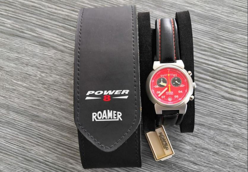 6.9.2019 Dražba ostatních movitých věcí (Pánské hodinky Roamer power). Vyvolávací cena 1.200 Kč, ➡️ ID621106
