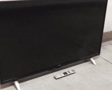 25.9.2019 Dražba televizoru Toshiba. Vyvolávací cena 2.500 Kč.