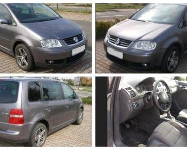 Zisková Dražba VW Touran 2.0 TDI - vydraženo jen za 50.000 Kč