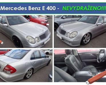 Zisková Dražba Mercedes Benz E 400 - vůbec nevydraženo!