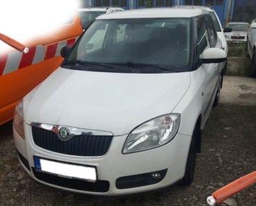 Do 28.8.2019 Aukce automobilu Škoda Fabia 1,4. Vyvolávací cena 21.000 Kč, ➡️ ID621166