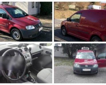 Do 29.8.2019 Aukce automobilu VW Caddy 1.9 TDI. Vyvolávací cena 36.900 Kč, ➡️ ID617324