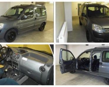24.9.2019 Dražba automobilu Peugeot Partner 9HX, kombi. Vyvolávací cena 15.000 Kč, ➡️ ID620701