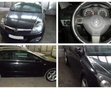 25.9.2019 Dražba automobilu Opel Astra GTC. Vyvolávací cena 45.000 Kč, ➡️ ID628898