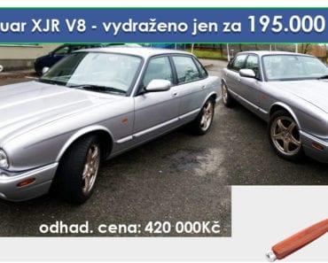 Zisková Dražba Jaguar XJR V8 - vydraženo jen za 195.000 Kč