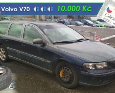 11.9.2019 Dražba automobilu Volvo V70 2.5 D. Vyvolávací cena 10.000 Kč, ➡️ ID616926